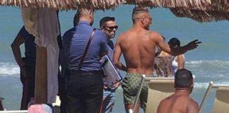 Ciro Immobile aggredito in spiaggia con un coltello da un ultras