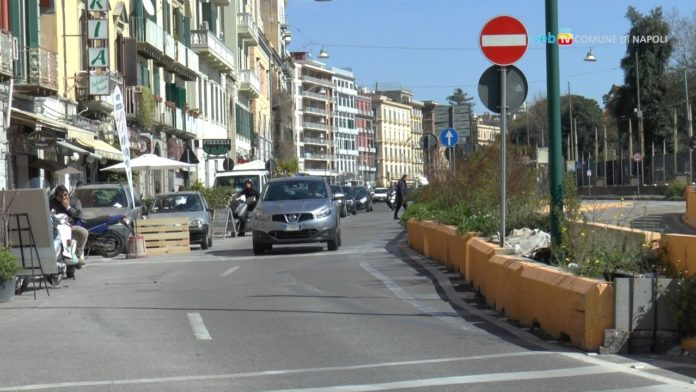 Comune di Napoli: dispositivo traffico Via Riviera di Chiaia e Via G. Bruno