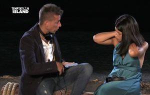 Temptation Island, prima puntata: confronto tra Oronzo e Valentina