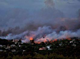 Roghi in Grecia, bilancio drammatico: almeno 60 morti e più di 556 feriti