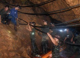 Thailandia, in salvo i primi 4 ragazzi intrappolati