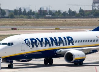 Paura sul volo Ryanair: Perdita di pressione in cabina