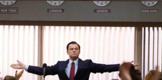 The Wolf of Wall Street, Leonardo Di Caprio nei panni di un feroce broker