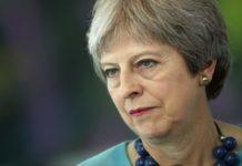 """Brexit, May: """"Stop ad arrivo nel Regno Unito di europei in cerca di lavoro"""""""
