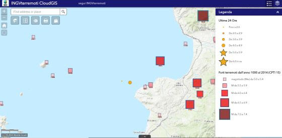 Terremoto, scossa di magnitudo ML 4.4 a Tropea
