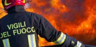 Afragola: incendio nell'Istituto delle suore di San Giuseppe