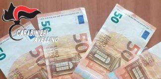 Avellino, 50enne spaccia banconote false all'Ufficio Postale