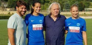 Calcio, da lunedì 20 il Napoli femminile in ritiro a Serino