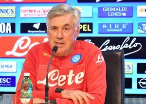 """Calcio Napoli, Ancelotti: """"Con l'Empoli sarà turnover. E su Cavani..."""""""