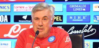"""Calcio Napoli, Ancelotti: """"Daremo il massimo. Razzismo problema sociale"""""""