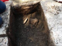 Benevento, Pontelandolfo: rinvenute ossa e un teschio di epoca romana