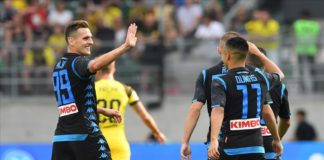 Calcio Napoli: convincente 3-1 al Borussia Dortmund