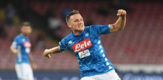 """Calcio Napoli, Zielinski: """"Siamo concentrati solo sul Frosinone"""""""