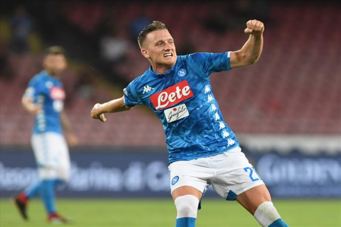 Calcio Napoli, Zielinski: