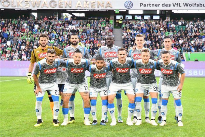 Calcio Napoli, male gli azzurri nell'ultima amichevole contro il Wolfsburg: 1-3