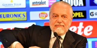 """Calcio Napoli, De Laurentiis: """"I tifosi pensano solo allo scudetto"""""""