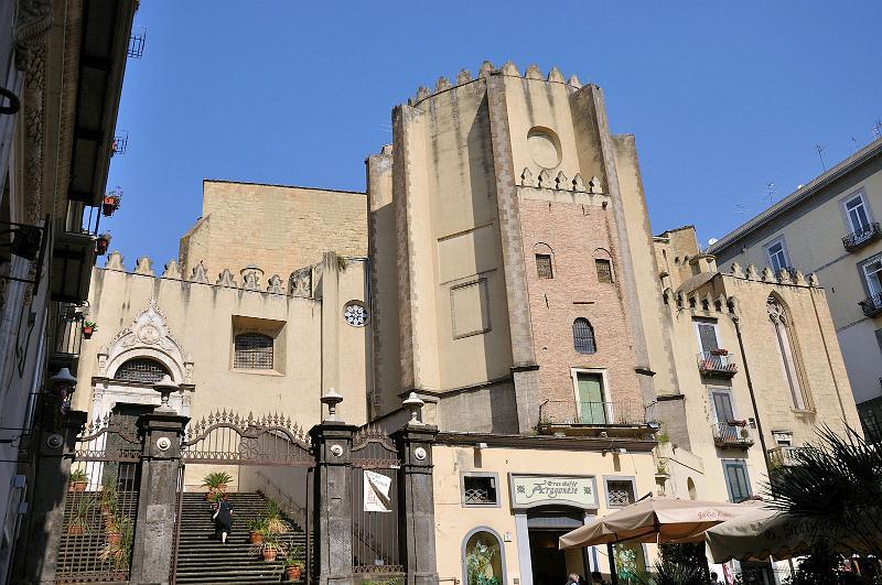 Basilica di San Domenico Maggiore: ritrovato il Salvator Mundi