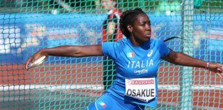 Daisy Osakue, ok dei medici: potrà partecipare agli Europei di Berlino