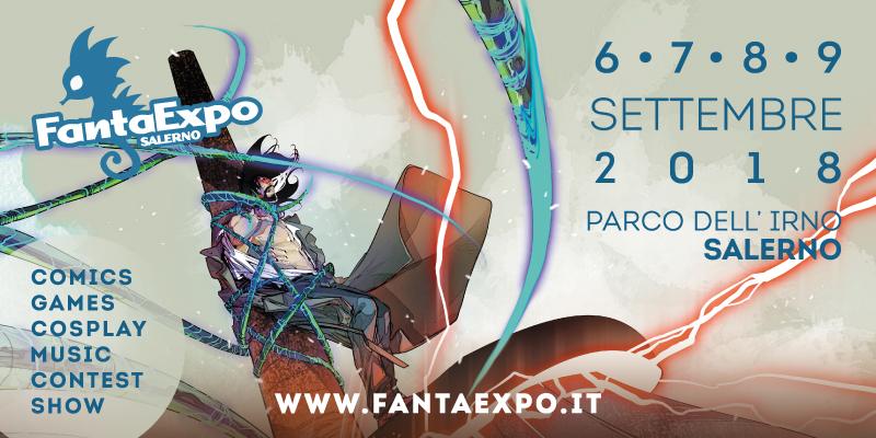 Salerno, dal 6 al 9 settembre al via il FantaExpo 2018