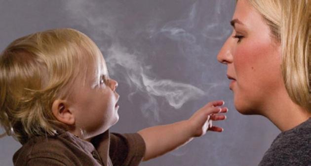 Fumo passivo, i bambini rischiano gravi malattie polmonari
