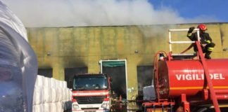 Nuovo rogo di rifiuti: in fiamme lo Stir di Casalduni