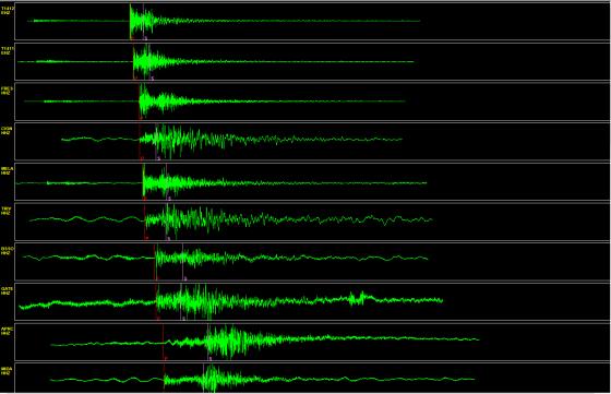 Oggi, dopo un'attenta valutazione della qualità dei dati, le stazioni sono state integrate nel sistema di sorveglianza sismica INGV e stanno contribuendo alla localizzazione degli eventi sismici di queste ore.