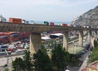 Salerno, arrivati i primi risultati delle verifiche al Viadotto Gatto