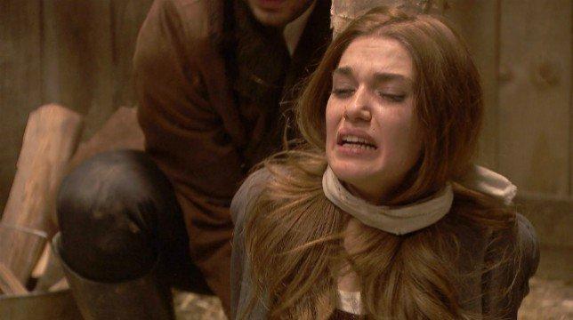 Il Segreto, puntata di oggi lunedì 3 settembre: Saul salva Julieta