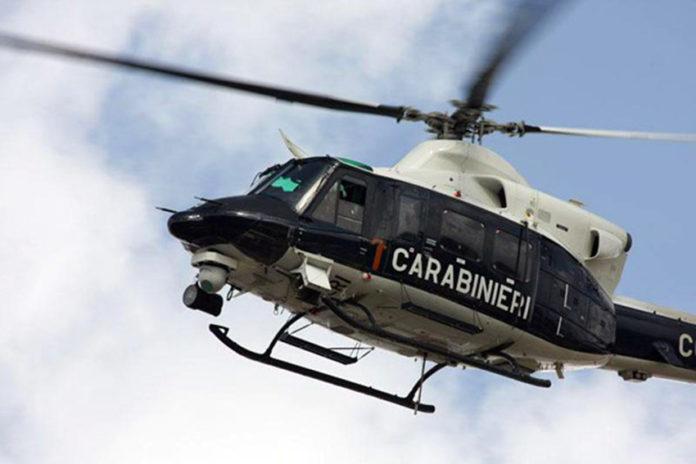 Afragola: Blitz dei carabinieri con elicottero in volo