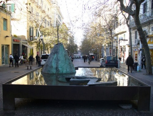 Vomero: rimossa la fontana