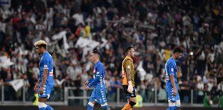 Juventus-Napoli 3-1, Mandzukic e Bonucci ribaltano la rete di Mertens