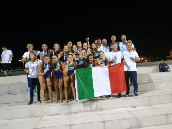 Pallanuoto, mondiali U18: Paolo Zizza vince l'argento con la Nazionale Femminile