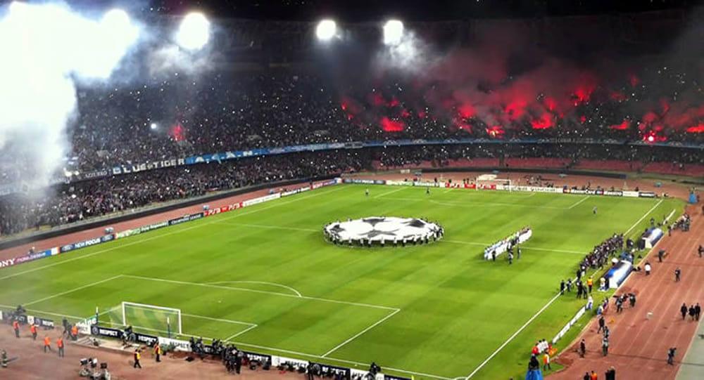 Calcio Napoli: mini abbonamenti per la Champions al San Paolo