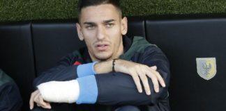 Calcio Napoli, ancora problemi per Meret: slitta il rientro in campo