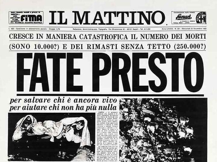 Terremoto del 1980: 15 milioni per completare la ricostruzione in Irpinia