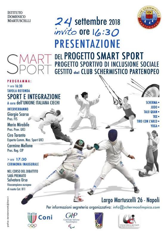 Smart Sport, il progetto sportivo di inclusione sociale