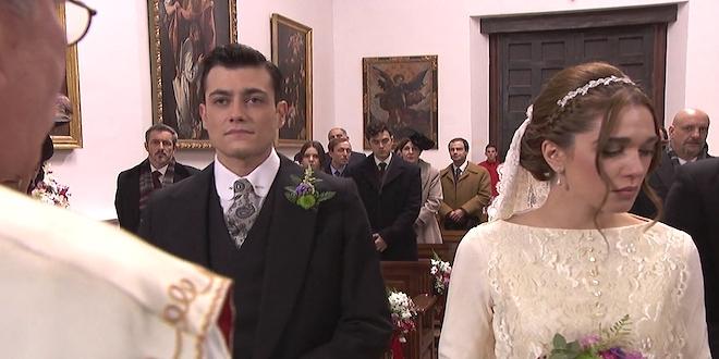 Il Segreto, oggi 14 settembre: Julieta vede Saul baciare Laura