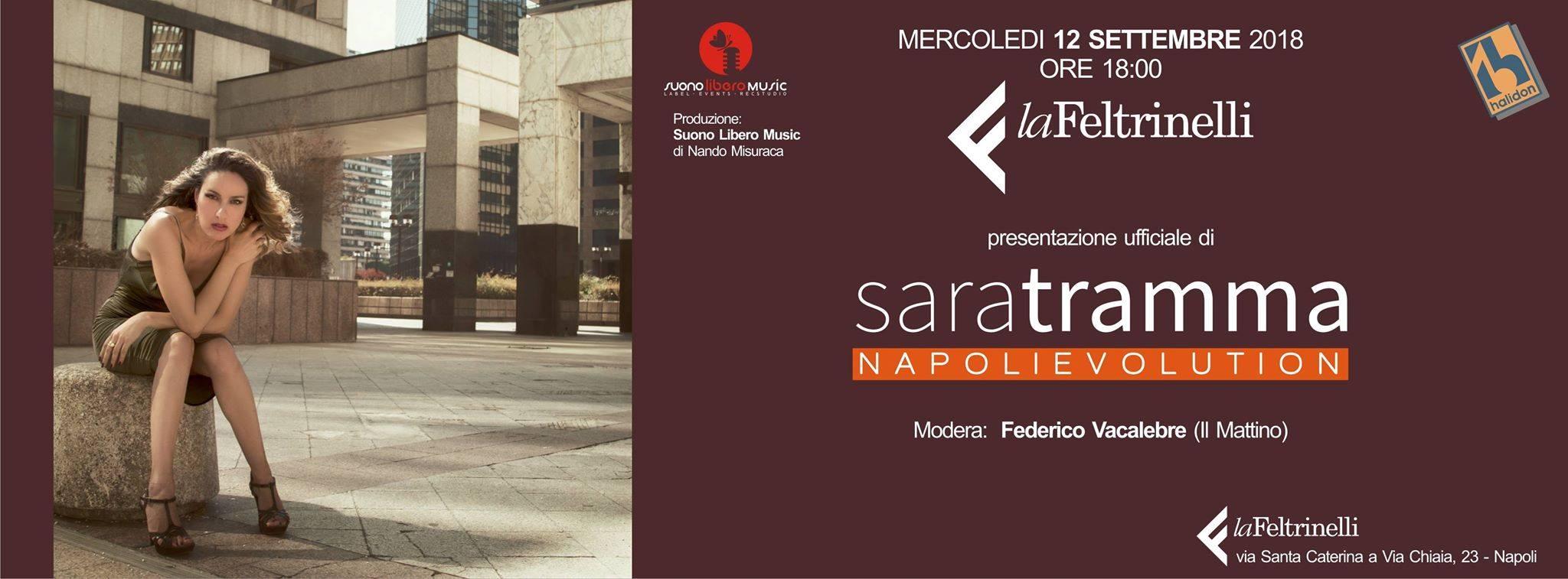 Sara Tramma presenta NapoliEvolution a La Feltrinelli