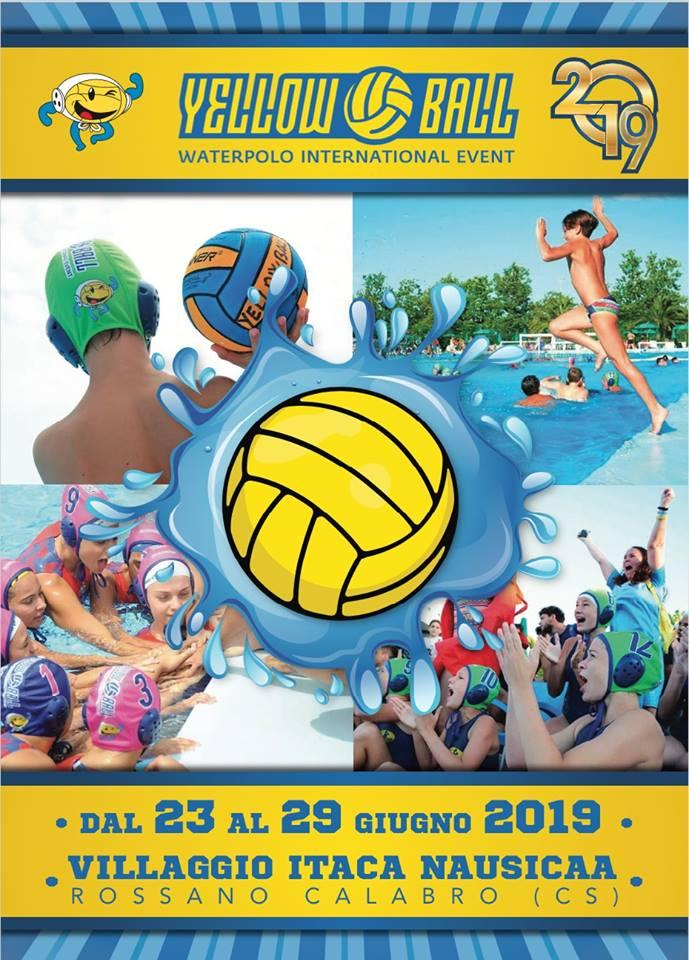 Yellow Ball Waterpolo, aperte le iscrizioni per l'edizione 2019