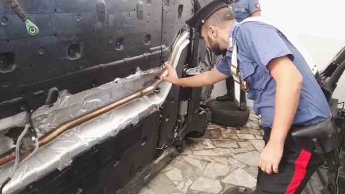 Marano di Napoli, ritrovate tre auto rubate in un capannone