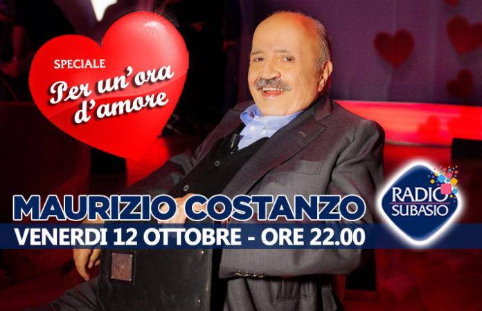 Radio Subasio ospita Maurizio Costanzo a Speciale Per Un'Ora d'Amore