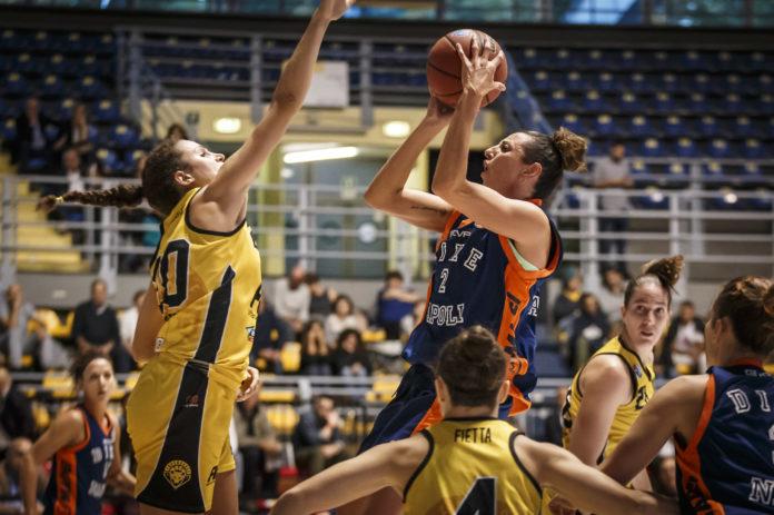 Basket, la Saces Mapei Sorbino vince contro San Martino 72-70