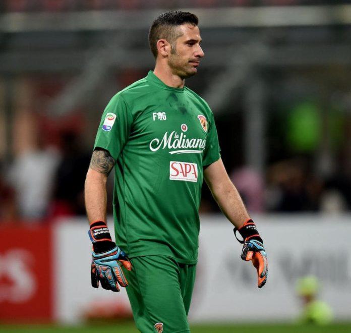 Benevento Calcio, il portiere Puggioni si è laureato