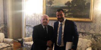 """Salvini e il dialogo con De Luca: """"Io suo allievo? Lo supererò"""""""