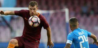 Calciomercato Napoli, il nome nuovo per l'attacco è Dzeko della Roma