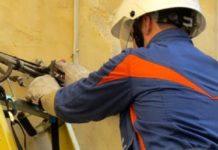 Benevento, ieri lavori di manutenzione alla rete elettrica