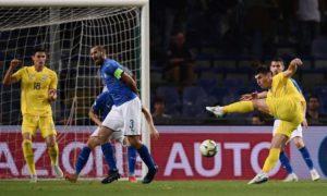 Italia-Ucraina 1-1: Bernardeschi non basta, ma piace la nuova nazionale