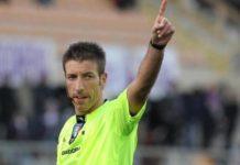 Calcio Napoli, con la Roma dirige Massa di Imperia