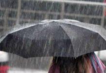 Prorogata l'allerta meteo in Campania fino alle 20 di domenica