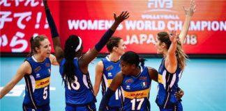 Volley femminile, 3-2 alla Cina: la fantastica Italia in finale mondiale!